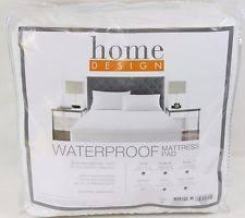 home design waterproof cotton queen mattress pad y1022 ebay