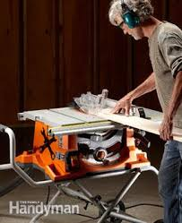 who makes the best table saw portable table saw reviews the family handyman