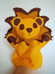 lion puppet lion puppet lion puppet felt lion felt lion puppet