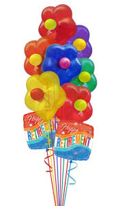 retirement balloon bouquet 67 best balloon bouquets images on balloon bouquet