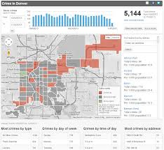Denver Maps Interactive Crime Map Denver See The World Through Interactive Maps