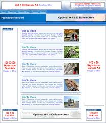 allwebco adsense and portal template advertisement layout