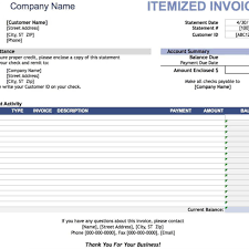 free blank invoice templates in pdf word u0026 excel for repair bill