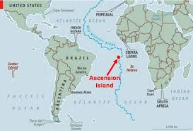 ascension islands map marine reserve nearly uk size around ascension island