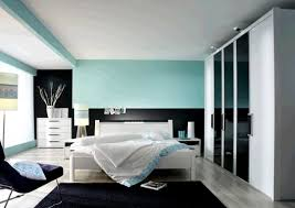adorable kids room design showing calming light blue accent wall