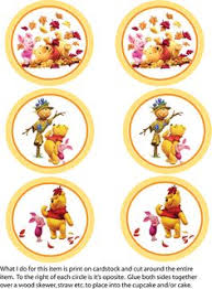 cupcake toppers winnie pooh party decorations free