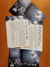 overly specific condition cards onyx path publishing world of