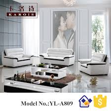 home furniture belgium modern microfiber leather modern white