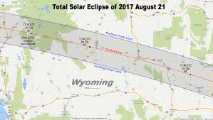 Map Of Nebraska Cities Total Eclipse Of The Sun August 21 2017