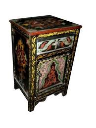 hand painted moroccan stand moroccan furniture los angeles