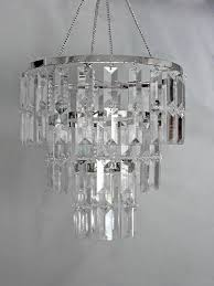 Clear Acrylic Chandelier 3 Tiered Clear Acrylic Chandelier Event Supplies And More