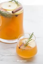 cinnamon apple cider mimosas thanksgiving cocktails