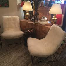 Recliner Chair Ikea Furniture Sheepskin Chair With Cushy Comfort And Modern Style