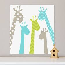 Giraffe Baby Decorations Nursery by Art For Nursery Giraffe Nursery Decor Baby Gift By Happynurseryart