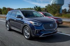 hyundai santa fe review 2017 hyundai santa fe our review cars com