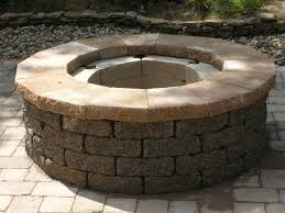 fire pit made of bricks how to cut caps for a fire pit lawnsite
