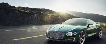bentley green bentley exp 10 speed 6 concept green front and side view 2560x1080