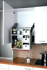 Kitchen Cabinet Door Organizer Pull Down Kitchen Cabinet Door Organizers Out Baskets Cabinets