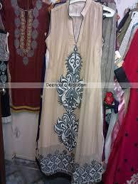 pakistani casual wear light brown designer clothes latest