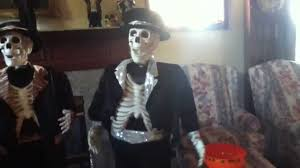 halloween dancing skeleton halloween props part 1 the dancing skeletons youtube