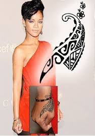 rihanna maori hand tattooforaweek temporary tattoos largest