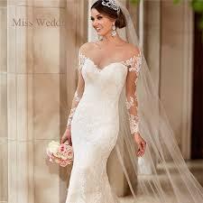 lace wedding dresses vintage sleeve lace wedding dress vintage style white ivory