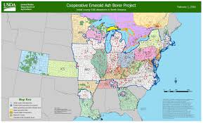 Map Of Lower Michigan by Only 3 Michigan Counties Left Outside Emerald Ash Borer Quarantine
