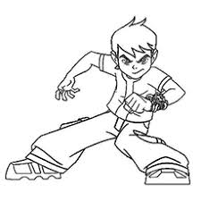 majestic design ideas ben 10 coloring pages emejing games photos
