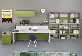 letto a con scrivania cameretta con letto a scomparsa dynamic study 2 clever it