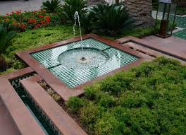 Diy Patio Fountain Water Fountains For Backyard Pool Design Ideas