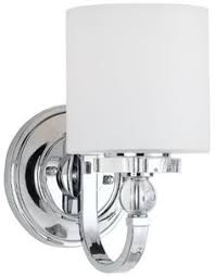 Quoizel Downtown Wall Sconce Feiss Mvs53001ch 1 Bulb Wall Sconce Chrome S Bath