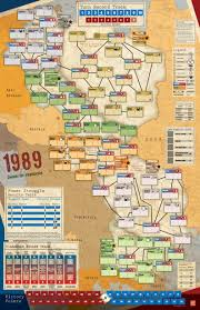 Map Of Cold War Europe by History U0026 Design In 1989 Dawn Of Freedom Play The Past