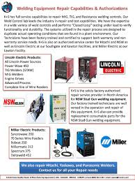 miller 60 series wire feeder manual weld controls and weld guns k s services industrial repair