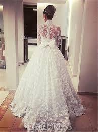 high neck wedding dresses ericdress high neck mesh lace sleeves wedding dress 12810721