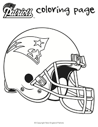 printable coloring pages nfl coloring pages free printable