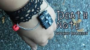 humanity bracelets death note gothic bracelet polymer clay tutorial arcilla