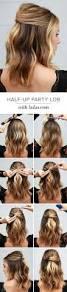 half up hairstyles for short hair hacks tutorials