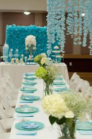 Ocean Cake Decorations Kara U0027s Party Ideas Under The Sea Mermaid Ocean 3rd Birthday