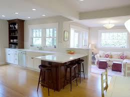 Combined Living Room And Dining Room Kitchen Living Room And Kitchen Combined Singular Pictures