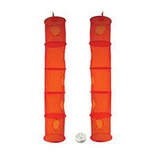 2 pack hanging 5 slot mesh closet organizer best friend gifts galore