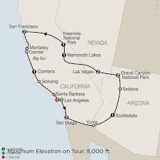 Cambria Ca Map California Tours Globus Escorted Tours