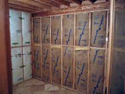 How To Insulate Your Basement by How To Build A Sauna Converting A Room To A Sauna