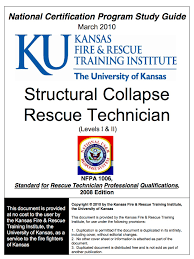 structural collapse rescue technician professional u0026 continuing