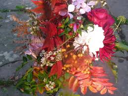 Wedding Flowers October Vikki U0027s Wedding Flowers Late October Rough Acre Bed And