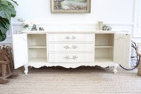 shabby chic buffet table thomasville shabby chic french provincal vintage media tv stand