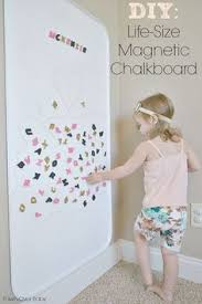 Oil Drip Pan From Walmart As A Giant Magnet Board Great - Magnetic boards for kids rooms