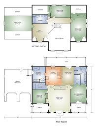 Log Cabin Home Floor Plans by Log Home And Log Cabin Floor Plan Details From Hochstetler Log Homes