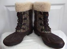 ugg s decatur boots brown ugg newberry ebay