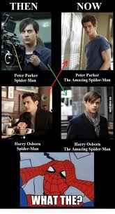 The Amazing Spiderman Memes - now then peter parker peter parker the amazing spider man spider
