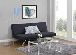 Sofa Upholstery Designs Amazon Com Dhp Emily Futon Couch Bed Modern Sofa Design Includes